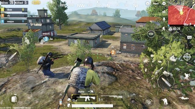 Battlegrounds is a player versus player shooter game in which up to one hundred players fight in a battle royale, a type of large-scale last man standing deathmatch where players fight to remain the last alive. Players can choose to enter the match solo, duo, or with a small team of up to four people. The last person or team alive wins the match.