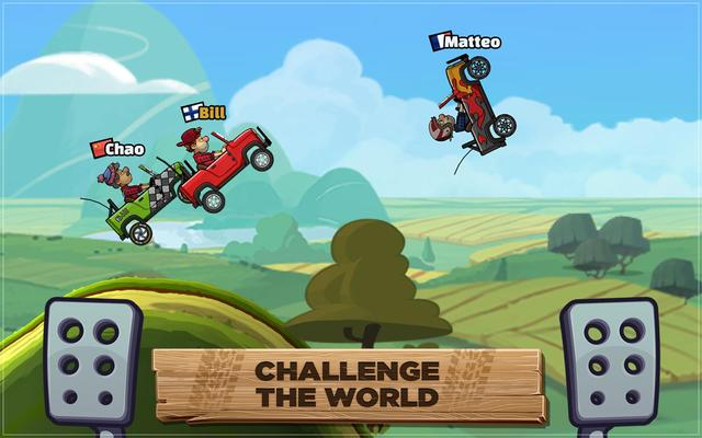 Hill Climb Racing 2 was released to Android devices on November 28th 2016, to iOS in December 2016 & to Windows 10 on March 23rd 2018. It has since been downloaded over 100 million times on the Google Play store alone & is the all time top grossing racing game for the platform.[4] The sequel introduced several new features including races, structured cups, challenges, special events and multiplayer. It also introduced all new vehicles and tuning parts as well as a large amount of cosmetic player and vehicle customization.