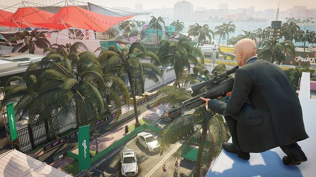 Hitman 2 is a stealth video game. Its gameplay is similar to its 2016 predecessor, as Agent 47, a contract assassin working for the International Contract Agency (ICA), travels to various locations around the globe to eliminate high-profile targets. The game features six missions, which are set in six distinct locations.[1] One of the missions in the game will take place at a racetrack in Miami, where 47 must assassinate one of the drivers and her tech mogul father, while another, set in the fictional area of Santa Fortuna, Colombia, has him hunting the leaders of a local cartel. (from Wikipedia)